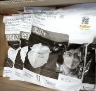 1 Bag of 50PC 3M™ Particulate Respirator 9502+, N95, 50 PCs