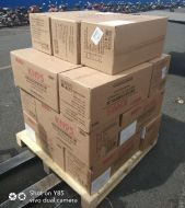 500PCs, 2 Each Individual Bag, Particulate Respirator KN95 N95 FFP2 CE, Over Ear Foldable Face Mask