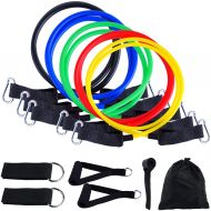 Exercise Resistance Band 11PCs Set Fitness Strength Workout